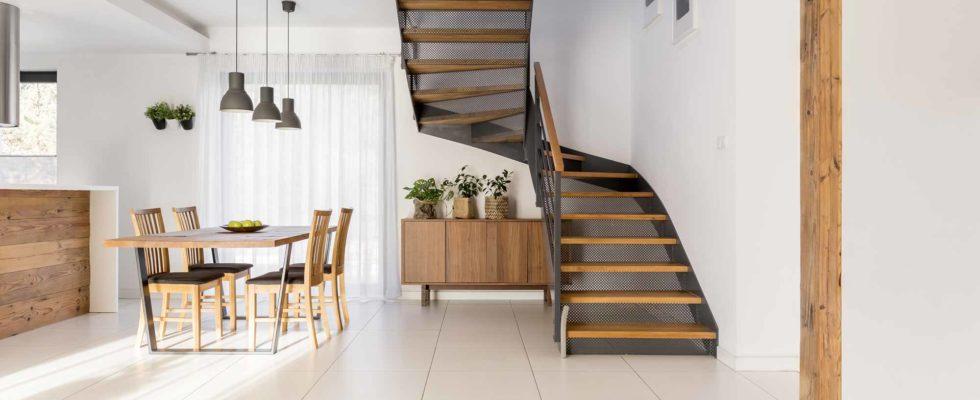 escalier pour son intérieur